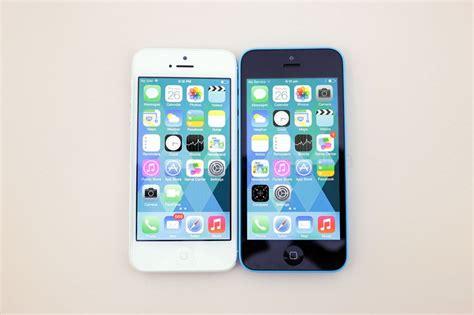 iphone 5 comparison iphone 5 5s 5c comparison