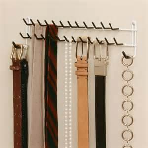 Tie Closet Organizer by Closetmaid Tie And Belt Rack Wall Mount Belt Rack