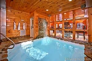 gatlinburg cabin rentals heated pool cabin and indoor