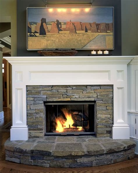 when designing a fireplace such as this how do you