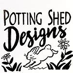 Potting Shed Designs Signs a garden wooden sign