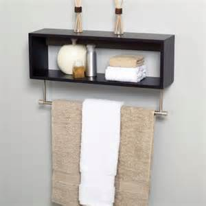 wood bathroom shelf with towel bar towel rack cube shelf shelving shelves bathroom wood