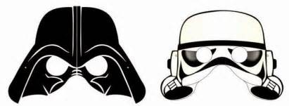 star wars free printable masks parties free cute quality 180