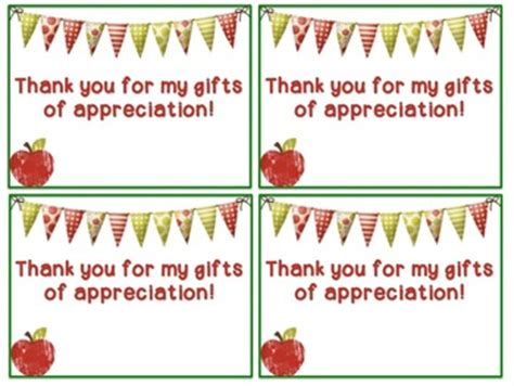 Thank You Letter For Appreciation Week Thank You Cards For Appreciation Week Editable Tpt
