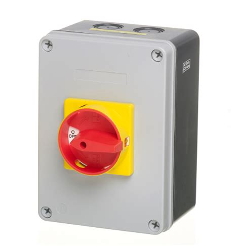 Mk 25a 25a 4 pole ip65 rotary isolator switch disconnect lb254p