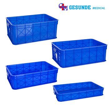 Rak Container Plastik Jual Rak Kontainer Plastik Standar Industri Polos Plain Industrial Container Toko Medis Jual