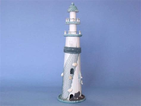 Cheap Lighthouse Decor by Buy Wooden Dolphin Lighthouse 19 Inch Wholesale Decor