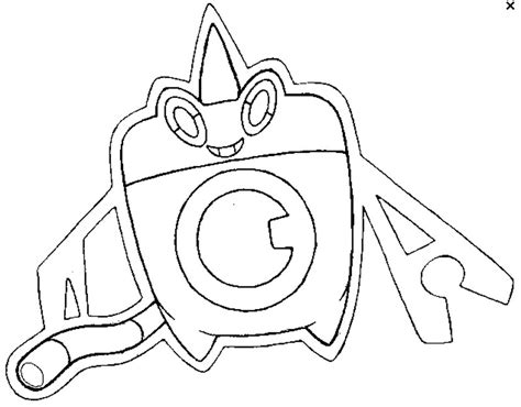 pokemon coloring pages rotom coloring page pokemon alternate forms pok 233 mon alternate