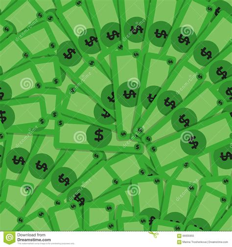 unix pattern whitespace vector money pattern with many banknotes stock vector