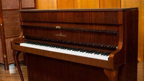 schimmel designer upright piano living pianos