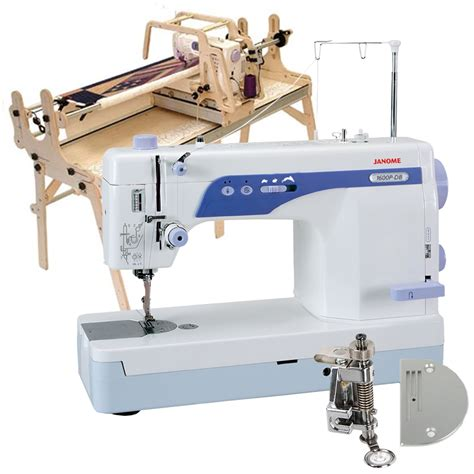 Quilting Foot For Sewing Machine by Gracie Ii Quilting Frame Janome 1600p Db High