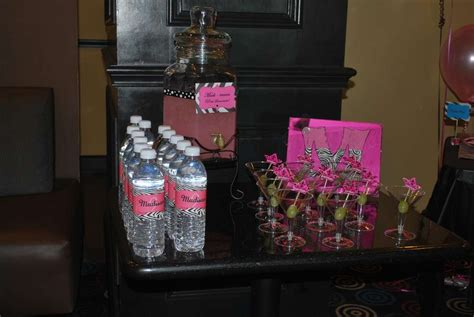 pink zebra spa birthday party ideas photo