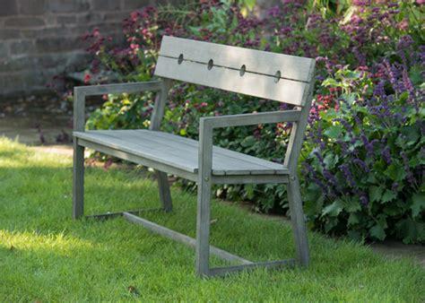 buy garden bench uk buy oban bench with armrests