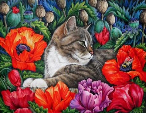 gambar painting kucing 557 best cat images on cats print and