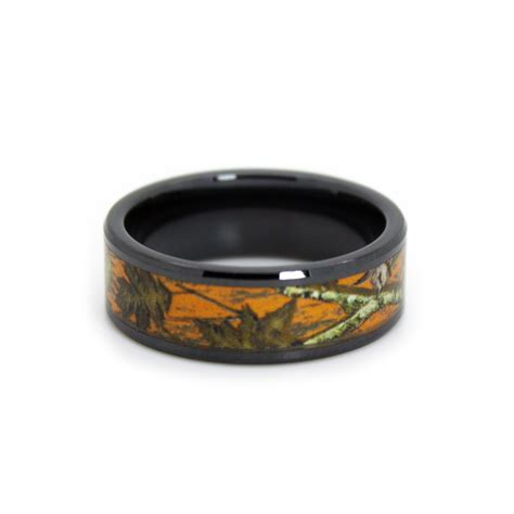 camo wedding rings for him and camo wedding rings