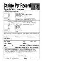 vaccination record template 6 best images of free printable vaccination chart