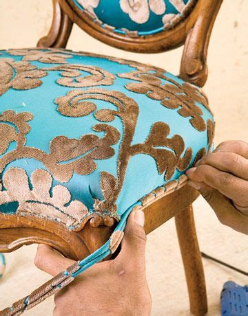 do it yourself upholstery reupholstering a chair