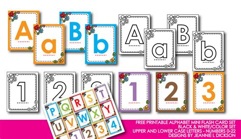printable upper and lowercase letter flashcards 6 best images of free printable preschool alphabet flash