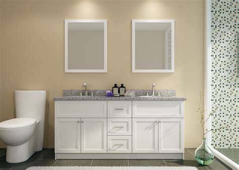 73 Inch Bathroom Countertop by Ariel F073d Ab Wht Hamlet 73 Inch Sink Vanity Set
