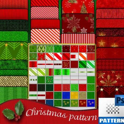 Pattern Photoshop Natale | 40 pattern photoshop di natale per stimolare la creativit 224