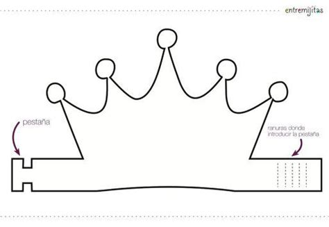 make your own tiara template moldes y plantillas coronas de cumplea 241 os 5 imagenes