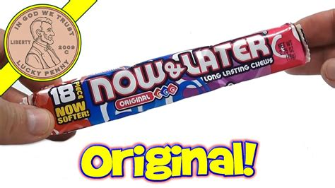 Now & Later Original Flavor Candy Chews - YouTube Now And Later Candy Flavors
