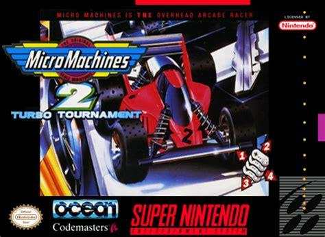 play micro machines 2 turbo tournament nintendo super