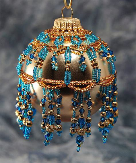 beaded ornament covers beaded ornament cover