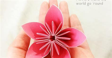 forty weeks crafts diy florigami tutorial