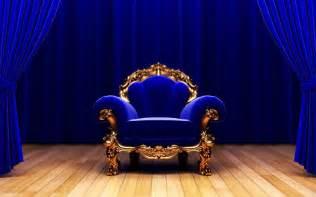 Safari Chair Royal Blue And Gold Wallpaper Wallpapersafari