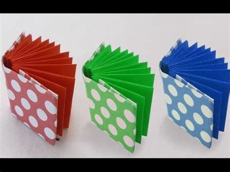 Paper Craft Projects How To Make - diy project ideas how to make a mini origami book