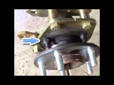 64 65 66 mustang rear disc brake 4 to 5 lug conversion