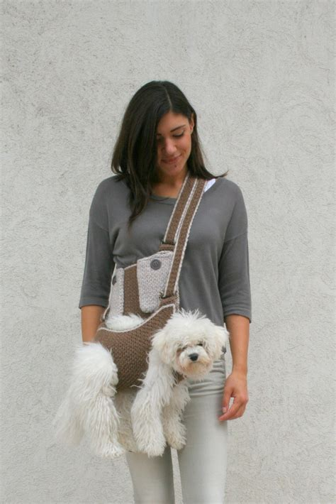 puppy carrier sling pet carrier crochet carrier sling carrier with