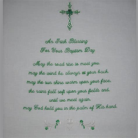 Wedding Blessing And Christening by An Blessing Baby Keepsake Christening Blanket