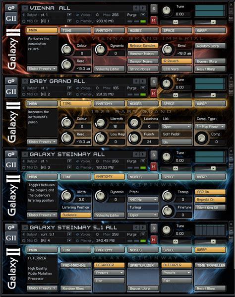 best service galaxy ii best service galaxy steinway 5 1 v1 0 hybrid 3 dvds