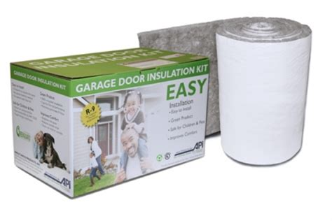 anco products garage door insulation kit anco 100 recycled insulation garage door kit now
