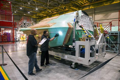 section 35a alert 5 187 northrop grumman completes center fuselage for