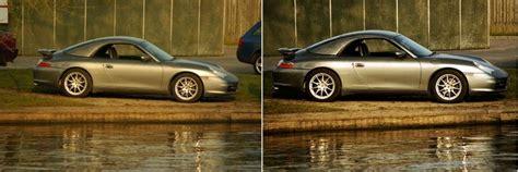 porsche before and after come fotografare automobili 8 passaggi illustrato
