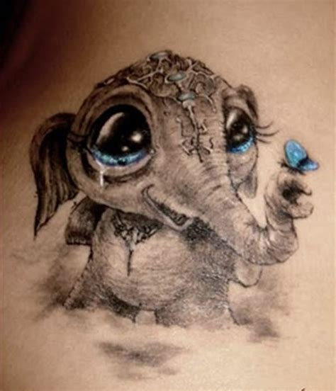 cute animal tattoos 66 spectacular elephant designs with meanings
