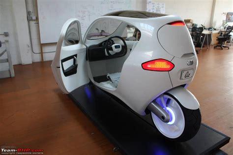 Lit Car by Lit Motors C1 A Gyro Stabilized 2 Wheeler Team Bhp