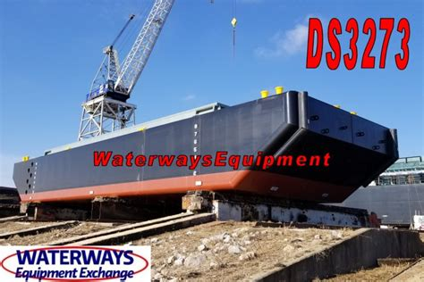 split hull boat ds3273 300 cy split hull hopper barge
