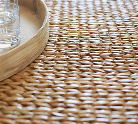 seagrass ottoman coffee table seagrass coffee table ottoman pottery barn