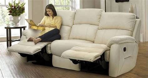 Stylish Reclining Sofa Plushemisphere And Stylish Reclining Leather Sofas