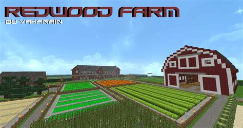 Best Ranch Home Plans by Redwood Farm Minecraft Building Inc