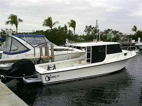Sport Cabin Boats For Sale by 2013 C Hawk Boats 29 Sport Cabin For Sale In New Port