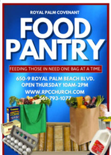 Church Food Pantry Mission Statement by Welcome Royal Palm Covenant Church Royal Palm Covenant