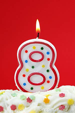 number  birthday candle stock images image