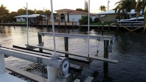 boat lift for rent ft lauderdale slip rent with boat lift the hull truth
