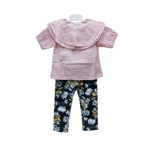 Setelan Pink Anak jual import kid setelan pakaian anak perempuan salur