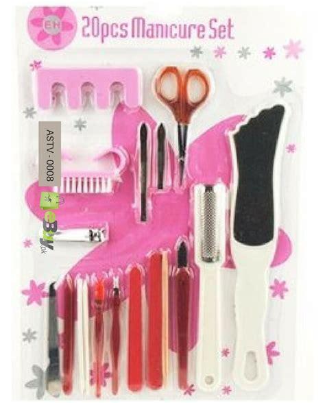 Manicure Pedicure Set Boneka buy manicure pedicure set 20 pieces in pakistan ebuy pk